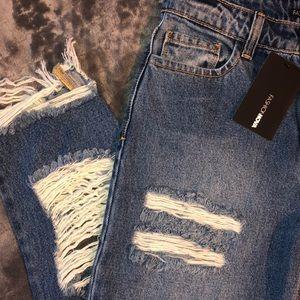 New FashionNova Bennie Boyfriend Jeans